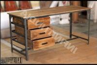 Muebles Estilo Industrial Vintage H9d9 Industrial Vintage Mesa De Edor Muebles Industriales