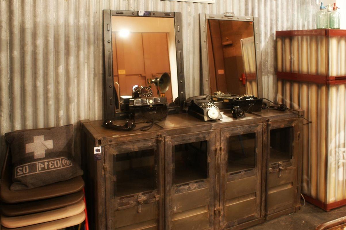 Muebles Estilo Industrial Vintage X8d1 CÃ Modas En Hierro Aparadores Estilo Industrial Mobilairio Fs