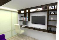 Muebles Estudio 8ydm Foto Render Mueble Multifuncional Zona De Tv Y Estudio De Kayros