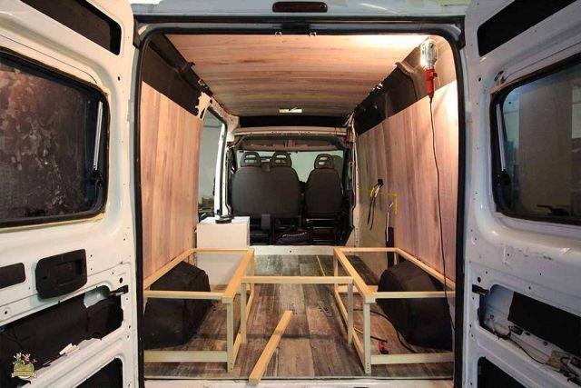 Muebles Furgoneta 3id6 CÃ Mo Hacer Muebles Para Furgonetas Camper Viajandonuestravida