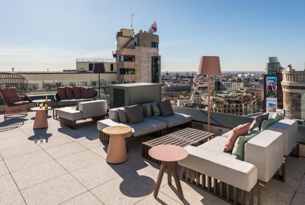 Muebles Gran Via 87dx Descubre El Hotel Con Azotea En Madrid Gran VÃ A Capital
