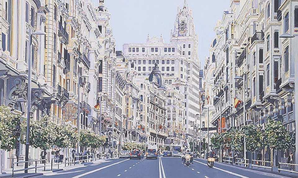 Muebles Gran Via 9fdy Impresionante Cuadro Enmarcacion Gran Via Madrid No Disponible En