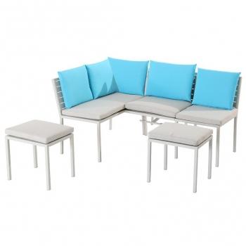 Muebles Gran Via Txdf Muebles De Jardà N Aluminio Y Acero Gran Và A Carrefour