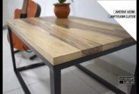 Muebles Hierro Y Madera Qwdq Mesa Ratona Estilo Industrial Madera Y Hierro Industrial Coffee Table Proyecto Mueble