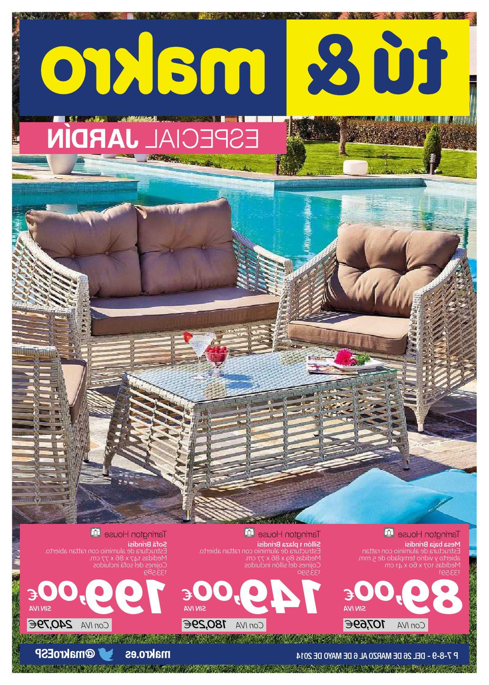 Muebles Jardin Makro Jxdu Catalogo Makro Muebles De Jardin Y Terraza Pdf Flipbook