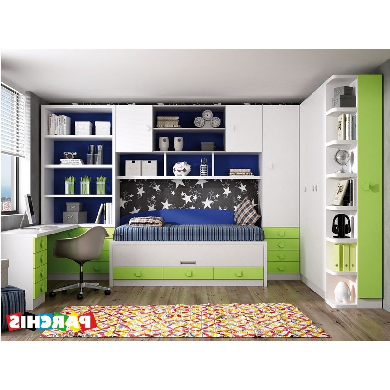 Muebles Juveniles Madrid Xtd6 Muebles Juveniles En Color Verde Camas Pactas Para Chicos