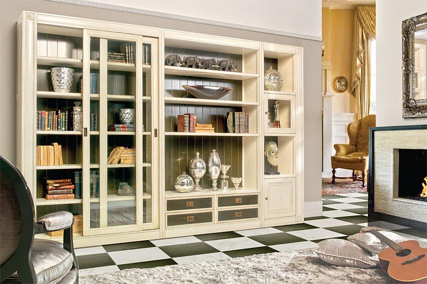 Muebles Librerias Txdf Librerà A Clà Sica Collins De Lujo En Portobellodeluxe Tu Tienda