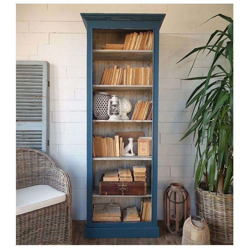 Muebles Librerias Wddj Prar Mueble Librerà A Azul Antique Mueble Provenzal Muebles De