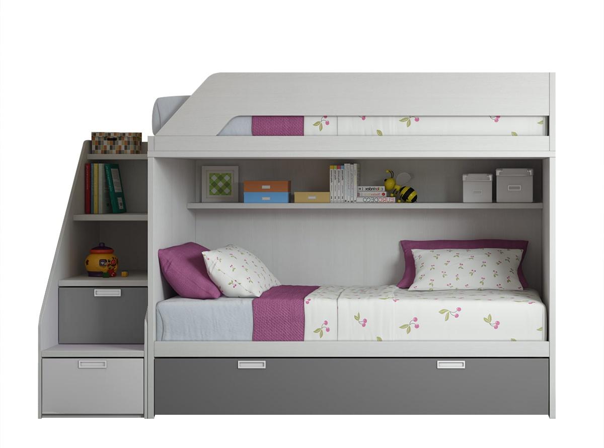 Muebles Literas Gdd0 Litera Flick L3 Dormitorios Juveniles Muebles La Fabrica