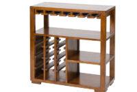 Muebles Madera Baratos S5d8 Botellero Con Estantes Madera