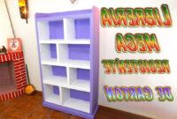 Muebles Manualidades U3dh Tutorial Mueble De Cartà N Librerà A Mega Resistente Manualidades