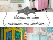 Muebles Manualidades Wddj 22 Ideas De Muebles Reciclados Que Enamoran Guà A De Manualidades