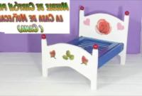 Muebles Manualidades Zwdg Muebles De Cartà N Para Casas De Muà Ecas Cà Mo Hacer Una Cama