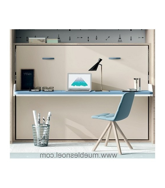Muebles Noel Ipdd Meglio Cama Abatible Prar 135 Con Mesa Horizontal Muebles Noel Madrid