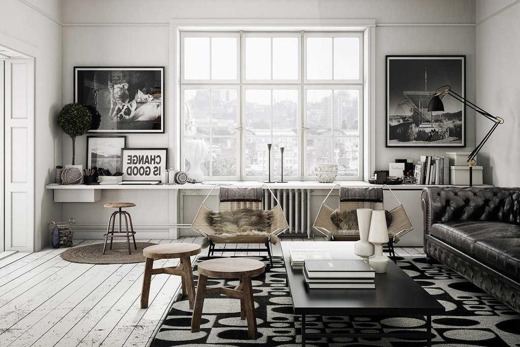 Muebles nordicos Modernos Q0d4 25 Salones NÃ Rdicos Que Te Van A Enamorar Nomadbubbles
