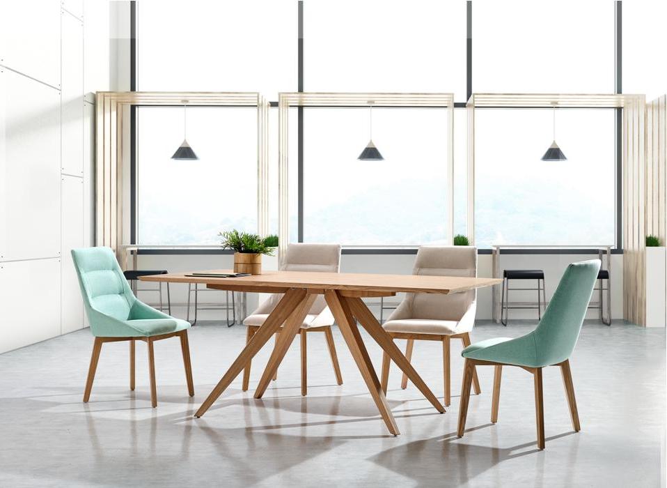 Muebles nordicos Modernos Whdr Silla De Diseà O Nà Rdico Romy Madera De Fresno Y Tapizado Crema