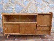 Muebles nordicos Segunda Mano 8ydm Aparador Fabricado En Espaà A En Los Aà Os 50 Bastidores De Pino Y