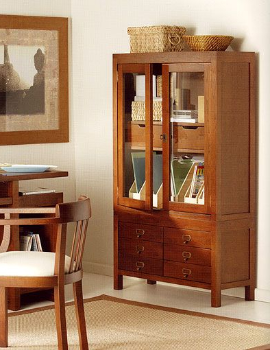 Muebles Online España 9ddf Vitrina Colonial Bukif Pequena Material Madera De Castano Esta