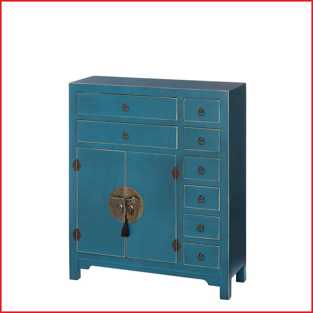 Muebles orientales Online S1du Muebles orientales Online Mueble oriental Azul 8 Cajones Te