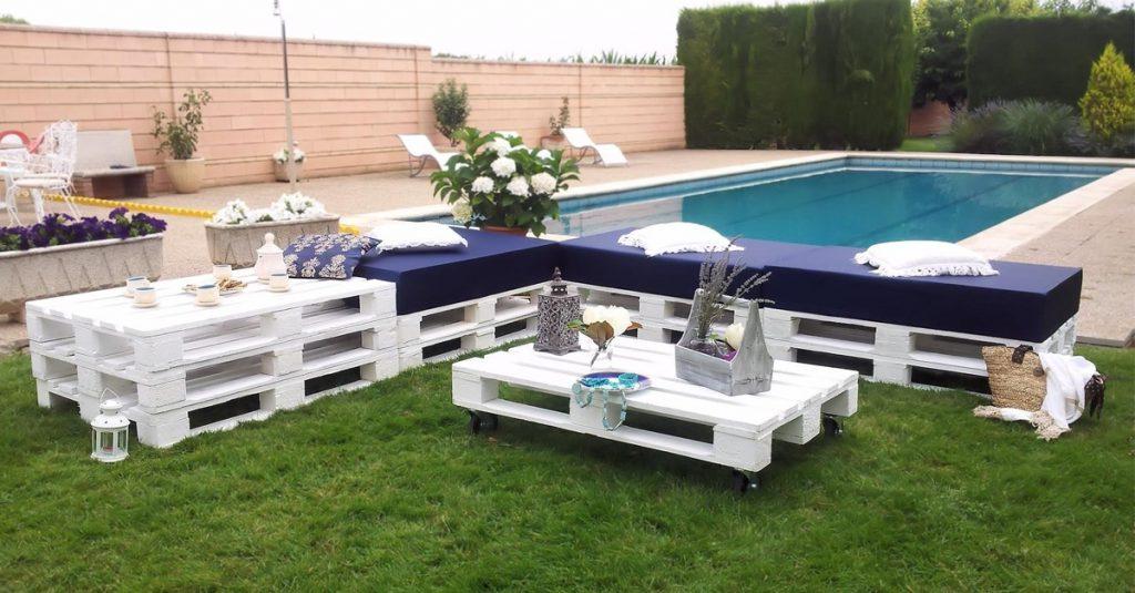 Muebles Palets Jardin X8d1 30 Diseà Os De Muebles De Palets Para Tu Jardà N â Ideas Creativas