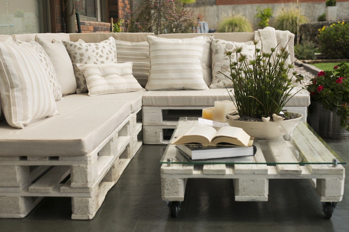 Resultado de imagen para muebles palets madera