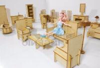 Muebles Para Casa Tldn Muebles Para Barbie Casa De Muà Ecas En Madera Set Economico