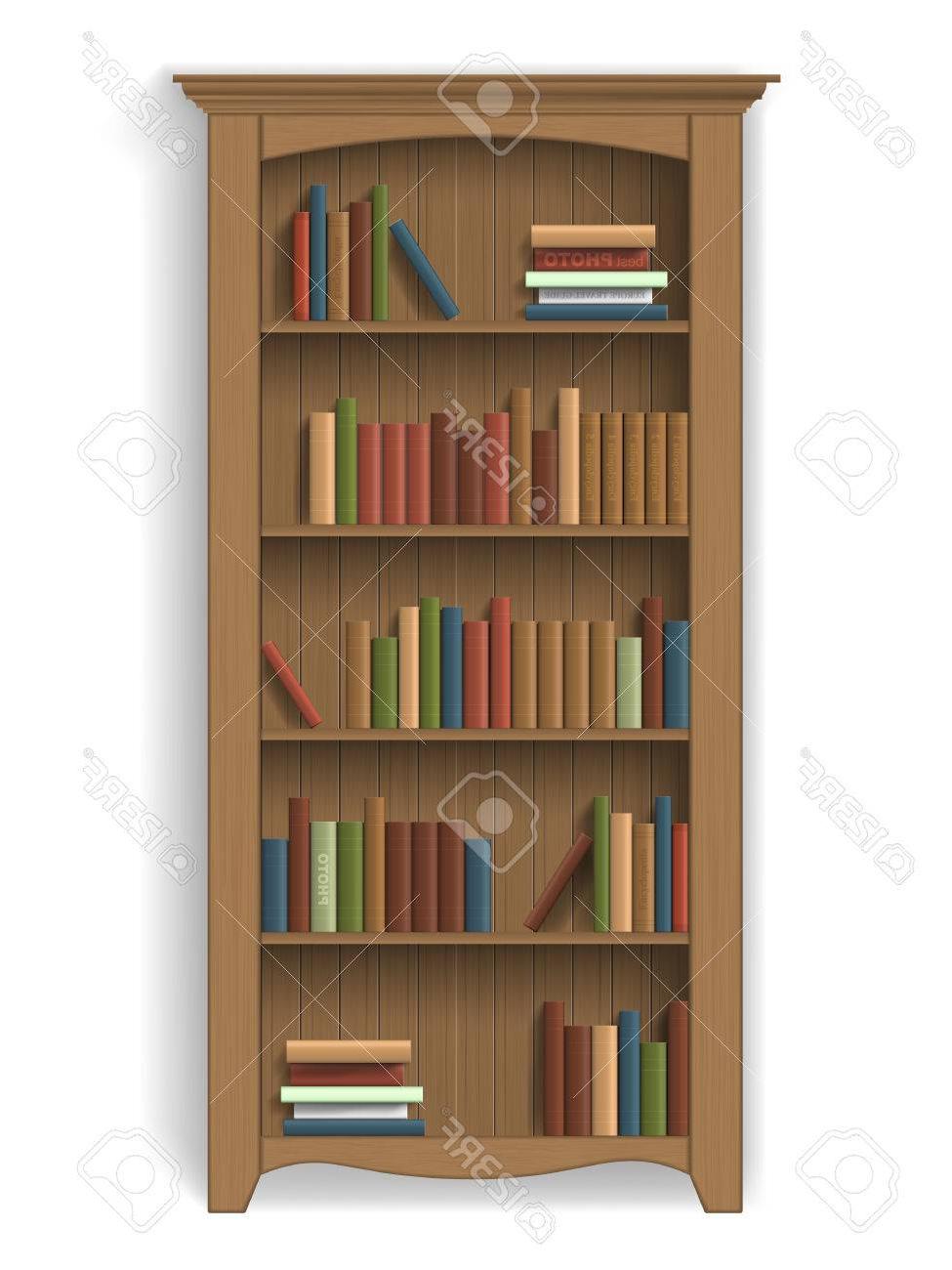 Muebles Para Libros Qwdq Estanterà A De Madera Con Libros En Las Estanterà as Muebles Para