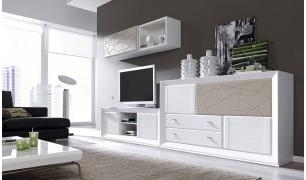 Muebles Para Salon Modernos Irdz Posicià N Librerà A Pleta Mod Jaen Prar Librerà as En