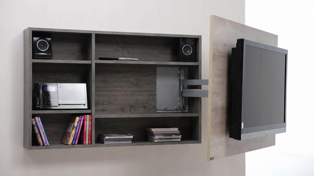 Muebles Para Tele 3id6 Diseà O De Muebles Para Tv Giratorio De Melamina Web Del Bricolaje
