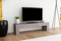 Muebles Para Television O2d5 Mueble Para Tv Con Apariencia De Hormigà N 120x30x30 Cm
