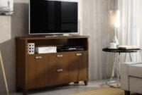 Muebles Para Television Rldj Mueble Bajo Para Televisor Con Vitrina De La Serie Romà Ntica
