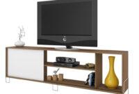 Muebles Para Television Tqd3 Mueble Para Tv Brv Br 33 47 Color Blanco Con Roble FamsaÂ