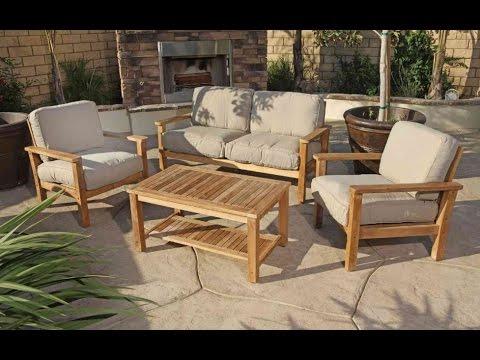 Muebles Para Terraza Ftd8 Muebles Para Jardines Y Terrazas Youtube