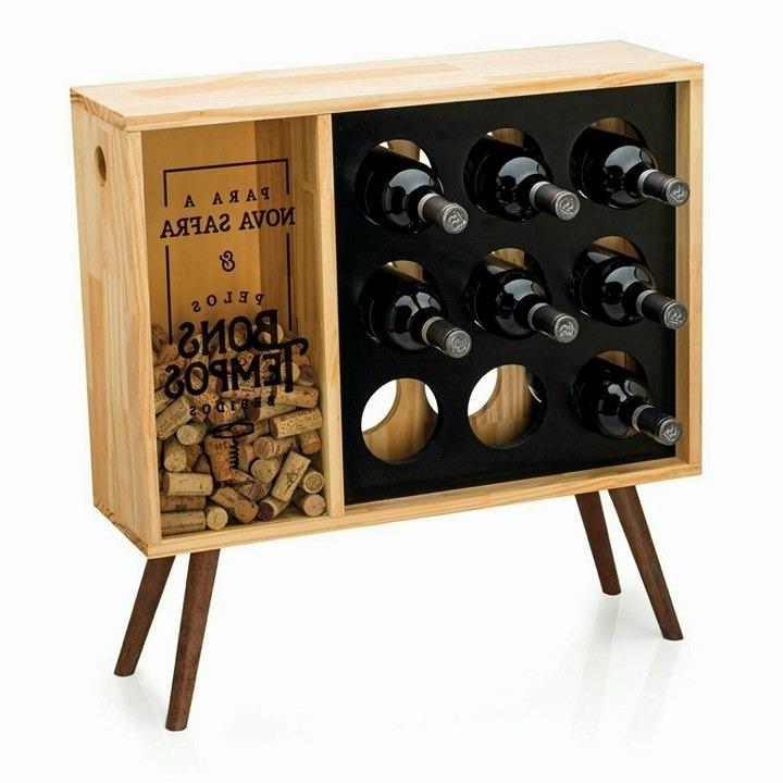 Muebles Para Vinos 9ddf Bodega Mueble Para Vinos Petit Con Sector Para Corchos 3 999 00