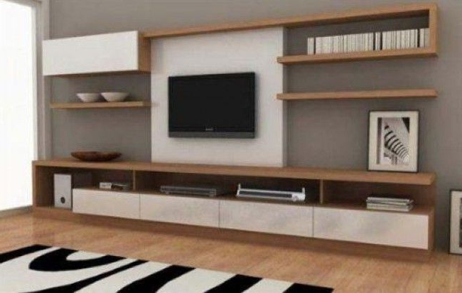 Muebles Rack Ffdn Modular Moderno Rack Panel Tv Lcd Living Muebles Luca Pra