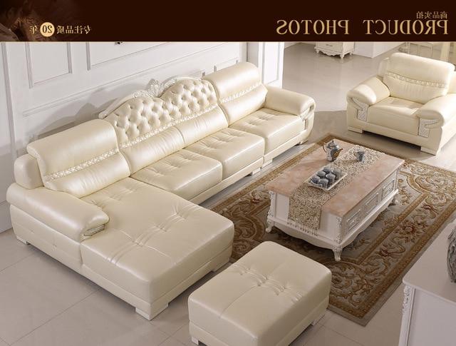Muebles Sala 4pde Europa Muebles Sala Salà N sofà Esquina En Cuero Genuino B66 En sofà S