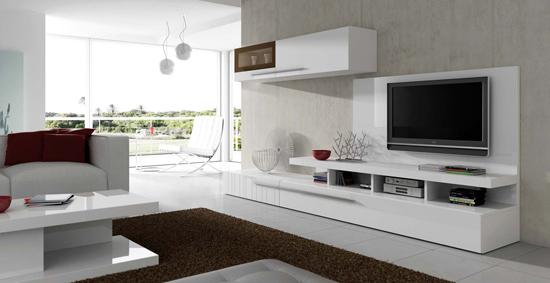 Muebles Sala De Estar Q5df Muebles Blancos Para Tu Sala De Estar