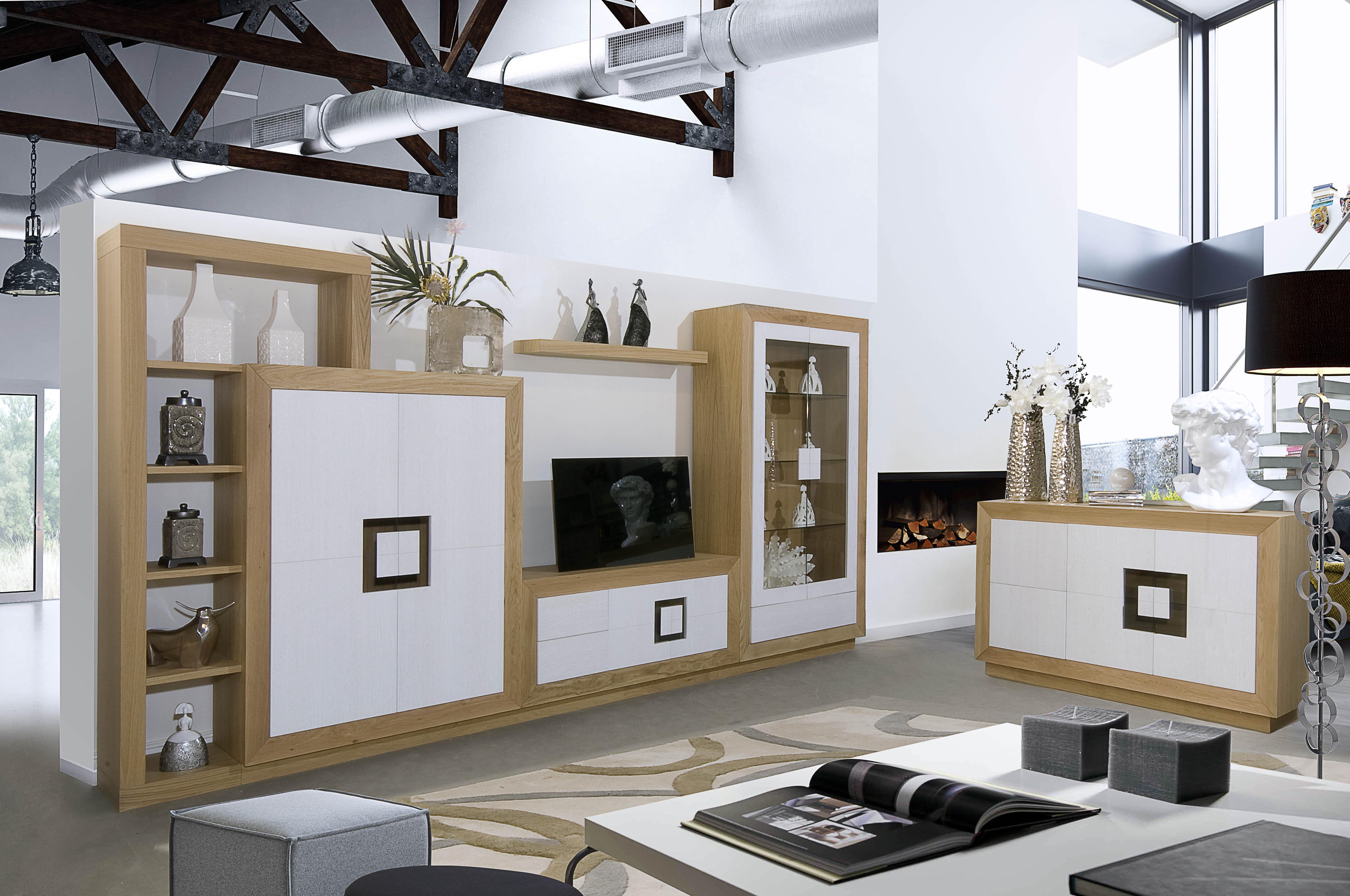 Muebles Salon A Medida 3id6 Muebles De Salà N Coleccià N Valeria Fabricado En Roble Muebles En