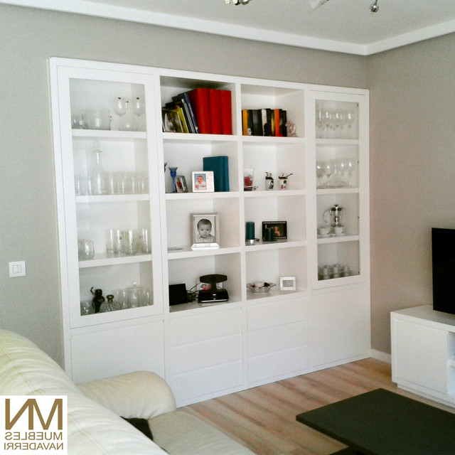 Muebles Salon A Medida S5d8 Mueble A Medida Para Vivienda En Madrid Transitional Living Room