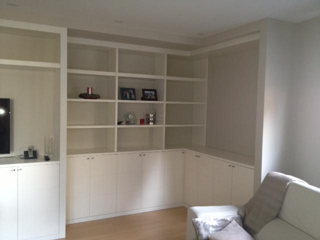 Muebles Salon A Medida Tqd3 Incia Tecnica Obras