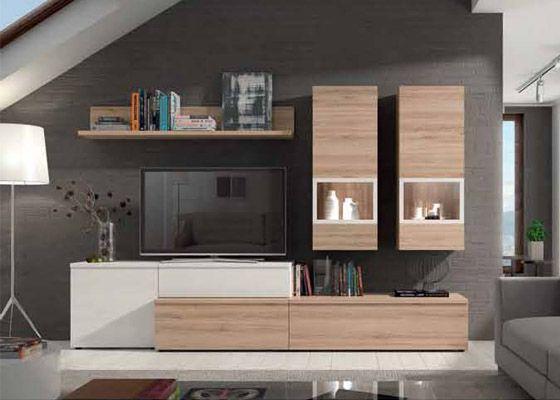 Muebles Salon Blanco Y Madera Fmdf Resultado De Imagen De Muebles Salon Blanco Y Madera Estantes