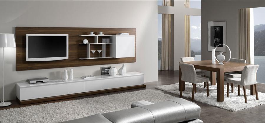 Muebles Salon Blanco Y Madera O2d5 Mueble De Salà N Blanco Y Madera Muebles Xikara