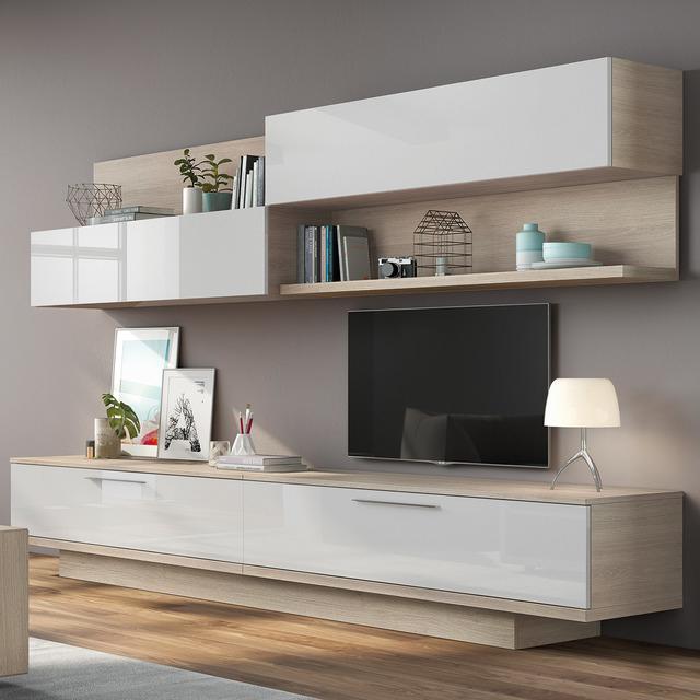 Muebles Salon Blanco Y Madera Q0d4 Muebles De Salà N Hogar El Corte Inglà S