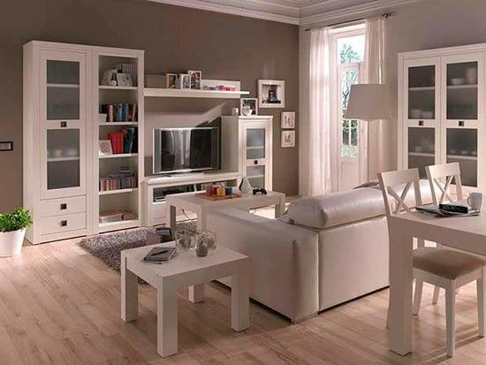 Muebles Salon Blanco Y Madera Qwdq Resultado De Imagen De Muebles Salon Blanco Y Madera Living Room