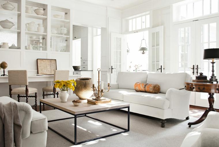 Muebles Salon Blanco Y Madera Xtd6 Decoracion Salon Moderno 50 Diseà Os En Blanco Y Madera