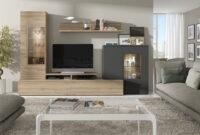Muebles Salon Bqdd Mueble Para Salà N En Color Roble Natura Y Antracita De La Coleccià N