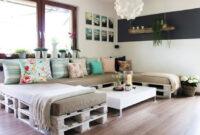 Muebles Salon Diseño Wddj Muebles Para Sala Salà N Hechos Con Pallets Decoracià N Del