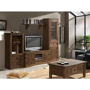 Muebles Salon El Corte Ingles 8ydm Muebles Deluxe Online Mediterranea Mueble Salà N Rústico Modelo 1 Salà N Rústico Con Mesa Centro