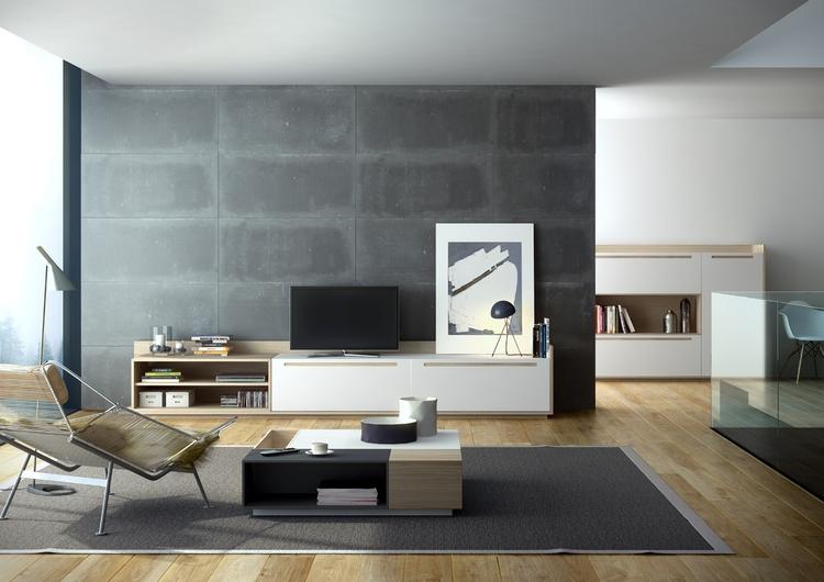 Muebles Salon Estilo nordico H9d9 Espacio Con Mueble Salon Estilo NÃ Rdico Avant Haus