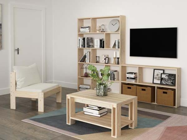 Muebles Salon Estilo nordico Nkde Muebles Nà Rdicos Baratos De Madera Ecolà Gica